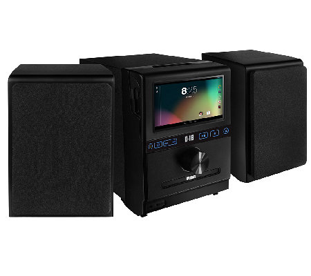 "Google Powered Internet Music System with 7"" Multi-Touch LCD"