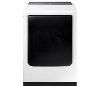 Samsung 7.4-Cu. Ft. Capacity Top-Load ElectricDryer - White - E288678