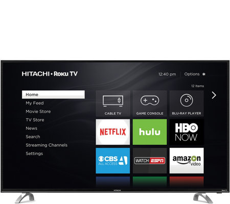 "Hitachi 43"" Class 4K Ultra HDTV with RokuInterface"