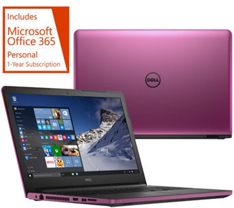 "Dell 17"" Laptop 8GB RAM 1TB HDD AMD Quad Core , Lifetime Tech & MS Office 365 - E229779"