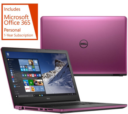 "Dell 17"" Laptop 8GB RAM 1TB HDD AMD Quad Core , Lifetime Tech & MS Office 365"