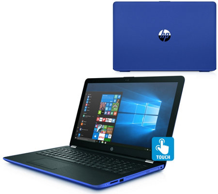 "HP Touch 15"" Laptop AMD Dual-Core 4GB RAM 1TB HDD MS Office 365"