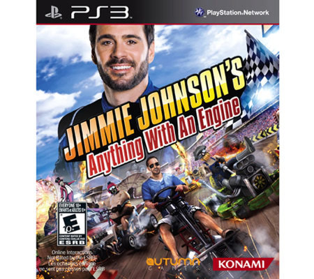 Jimmie Johnson's Anything with an Engine - PS3