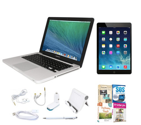 "Apple Macbook Pro 13"" Bundle Apple iPad mini 216GB"
