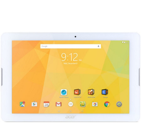 "Acer Iconia One 10"" Tablet -MediaTek Cortex A53MT8163, 16GB"