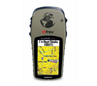 Garmin eTrex Summit HC Handheld GPS with Built-inPatch Antenn - E182180
