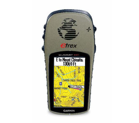 Garmin eTrex Summit HC Handheld GPS with Built-inPatch Antenn