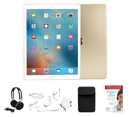 "Apple iPad Pro 9.7"" 32GB Wi-Fi w/ 2 Year Tech, Neoprene Sleeve & Accessories"