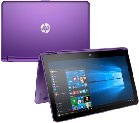"HP 15"" 2-in-1 Flip Laptop w/ Intel 8GB, 1TB MS Office 365 & Tech Support"
