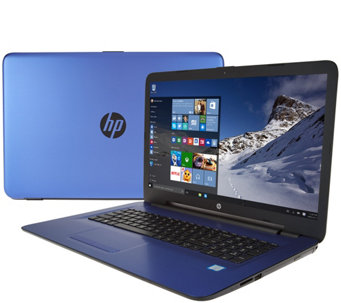 HP 17 Laptop Intel Core i3 12GB RAM 1TB HD DVD-RW, Webcam & Lifetime Tech - E230080