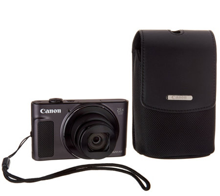 Canon PowerShot SX620 HS 20MP 25X Zoom Digital Camera with Case & SD