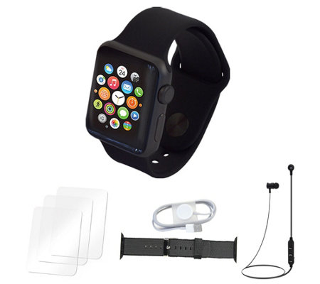 Apple Watch Series 1 38mm with Nylon Band and Accessories