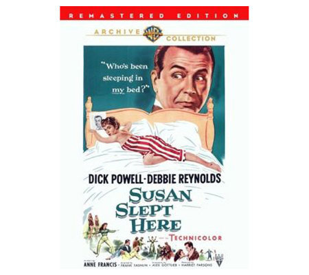 Susan Slept Here - Remaster - (1954) - DVD