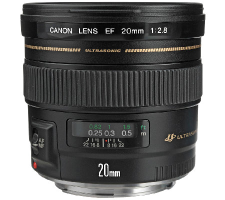 Canon EF 20mm f/2.8 Wide-Angle USM Lens