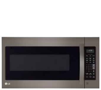 LG 2.0-Cubic Foot Over-the-Range Microwave Oven - E288680