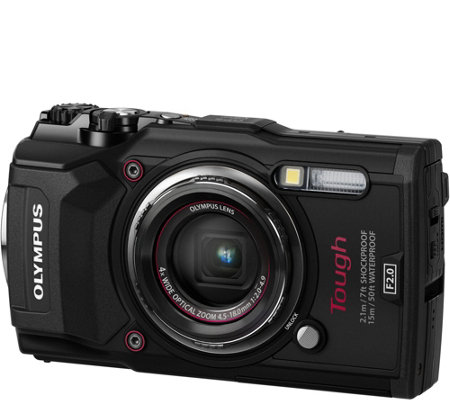 Olympus Tough! TG-5 12MP Camera with WiFi