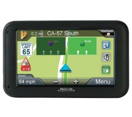 "Magellan RM5265T-LMB 5"" GPS w/ Lifetime Maps & Traffic with Bluetooth"