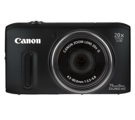 canon powershot sx260 hs manual