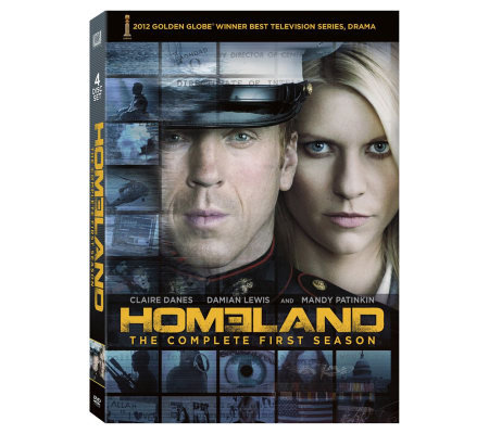Homeland: Season 1 Four-Disc DVD Set