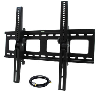 "MegaMounts Tilting 32"" to 55"" TV Wall Mount with HDMI Cable - E281881"