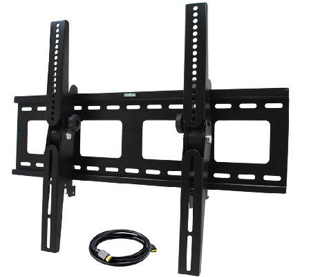 "MegaMounts Tilting 32"" to 55"" TV Wall Mount with HDMI Cable"