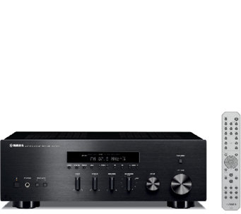 Yamaha Natural Sound Stereo Receiver with Built-in iPod Dock - E285481