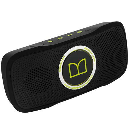 Monster SuperStar BackFloat HD Waterproof Bluetooth Speaker