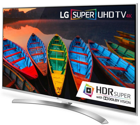"LG 55"" Class Smart 4K 3D LED-Backlit Super Ultra HDTV"