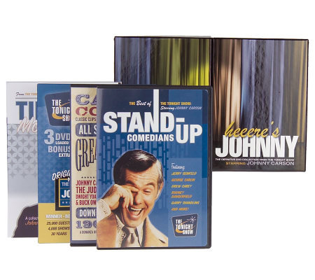 Johnny Carson The Definitive Tonight Show Collection 12 ...
