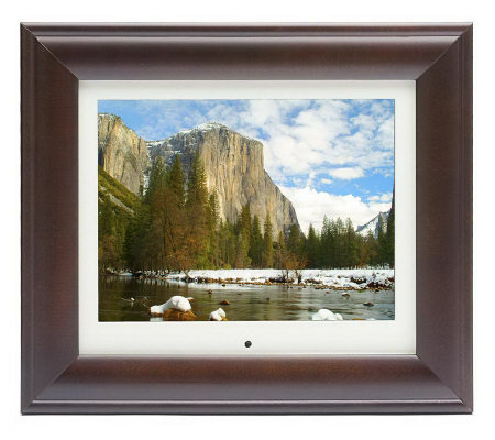 "10.4"" Diagonal Digital Picture Frame with 128MB Internal Memory & MP3"