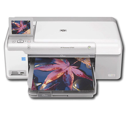 HP Photosmart D7560 Printer