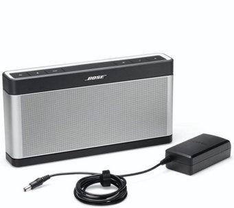 Bose Soundlink Bluetooth Speaker III with Cover - E231182