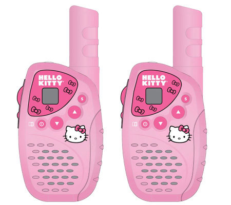 Hello Kitty Mini FRS Two-Piece Two-Way Radio Set
