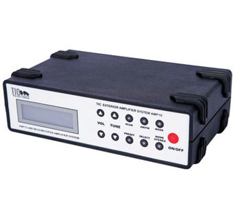 TIC Exterior Outdoor CD/MP3/iPod/Karaoke Receiver Amplifier - E260782