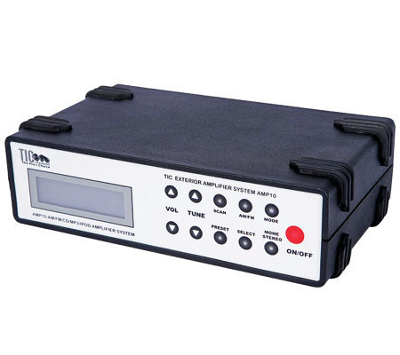 TIC Exterior Outdoor CD/MP3/iPod/Karaoke Receiver Amplifier