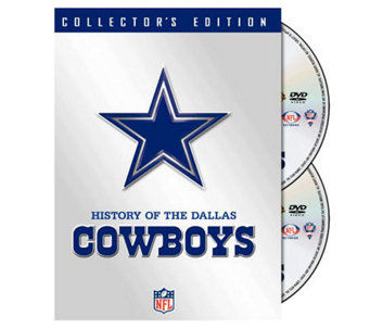 NFL History of the Dallas Cowboys 2-Disc Set - E265982