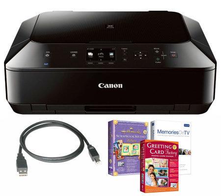 Canon Pixma Mg5420 Wireless Photo All In One Printer ...