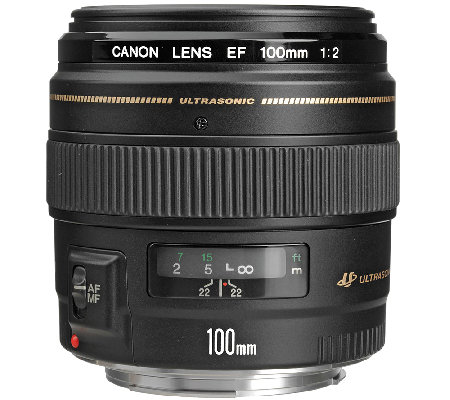 Canon EF 100mm F/2 USM Standard and Medium Telephoto Lens