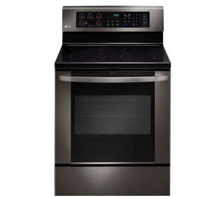 LG 6.3-Cubic Foot Free-standing Electric RangeConvection Oven