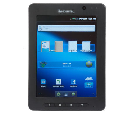 "SuperNova 8"" Touchscreen Color Android Media Tablet by Pandigital"