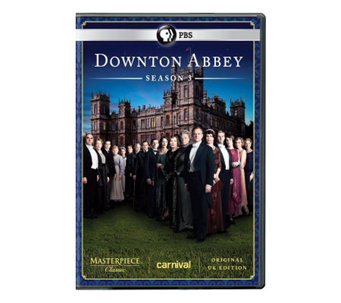 Masterpiece Classic: Downton Abbey Season 3 3-Disc Set - DVD - E266483