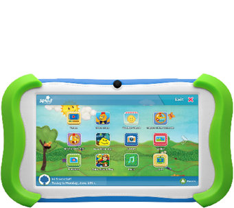 "Ematic 7"" Sprout Channel Cubby HD 16GB Kids Tablet - E285083"