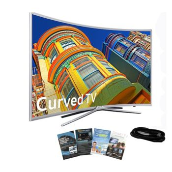 Samsung 49 Curved Smart LED HDTV with HDMI Cable & App Pack