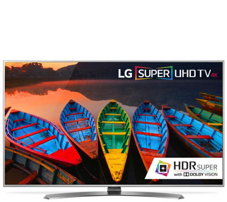"LG 60"" Class Smart LED-Backlit 4K Super Ultra HDTV"