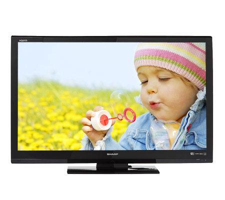 "Sharp AQUOS 42"" Diag. 1080p Edge-litLED LCD 120Hz HDTV with Internet Apps"