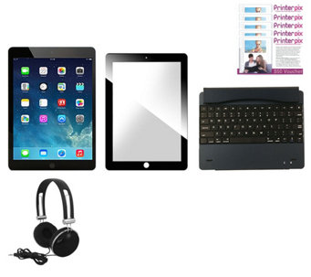 Apple Mini 2 32GB iPad with Keyboard, Glass Screen Protect, Vouchers & More - E230284