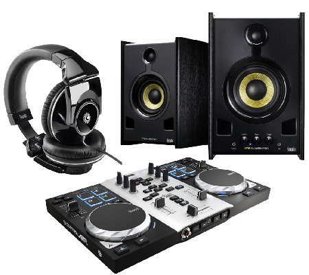 Hercules DJ Control Air S Series with Headphones & Speakers