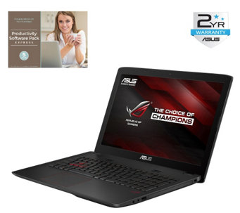 "ASUS 15.6"" ROG Laptop - Core i7, 16GB RAM, 1TBHDD w/ Software - E287384"