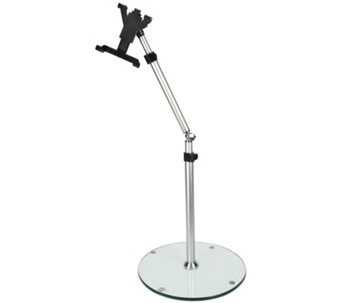 "MegaMounts Adjustable Tablet Floor Stand for 7""to 12"" Tablets - E289684"