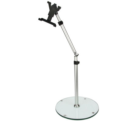 "MegaMounts Adjustable Tablet Floor Stand for 7""to 12"" Tablets"